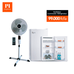 Refrigarateur + Ventilateur