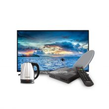 Pack TV 32″ + Kit Canal + Bouilloire