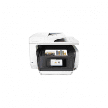 HP INC Imprimante multifonction 4 en 1 Officejet Pro 8720 – Jet d'encre – Couleur – Ethernet, Wi-Fi, USB 2.0 – RectoVerso – A4